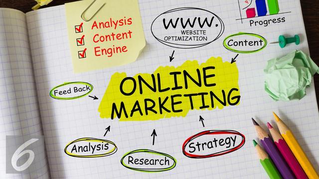 Langkah-Langkah Proses Pemasaran dengan Menggunakan Strategi Marketing Internet